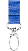 Lanyard with Metal Oval Hook