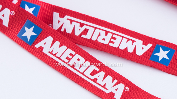 Lanyard with Screen Printing